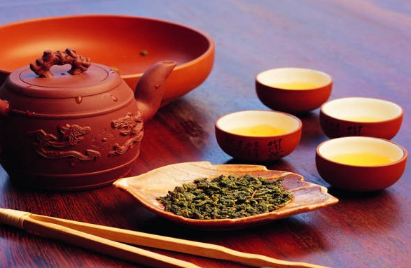 Oolong tea set