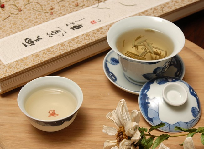 White tea is very popular in china