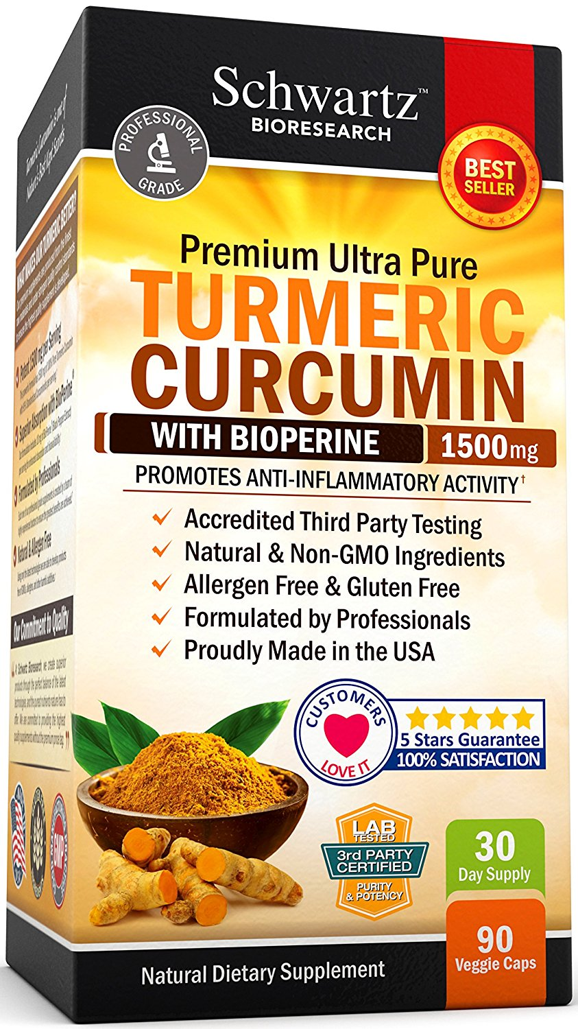 Schwartz Bioresearch Turmeric Supplement