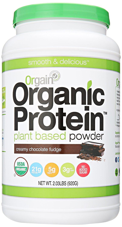 Orgain Organic Plant Based Protein Powder-Creamy