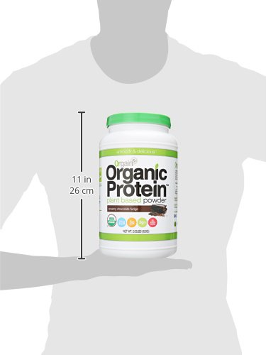 Orgain Organic Plant Based Protein Powder-Size