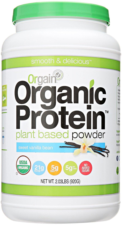 Orgain Organic Plant Based Protein Powder-Vanilla