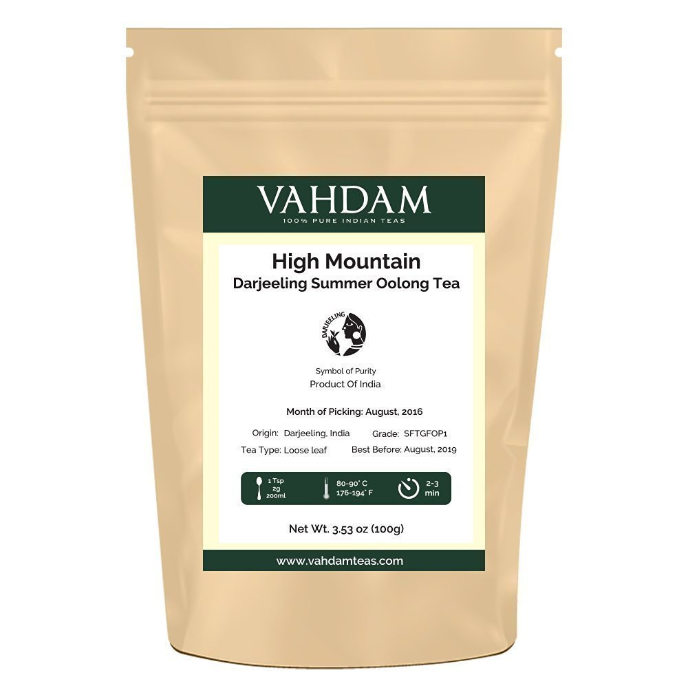 VAHDAM best oolong tea for weight loss
