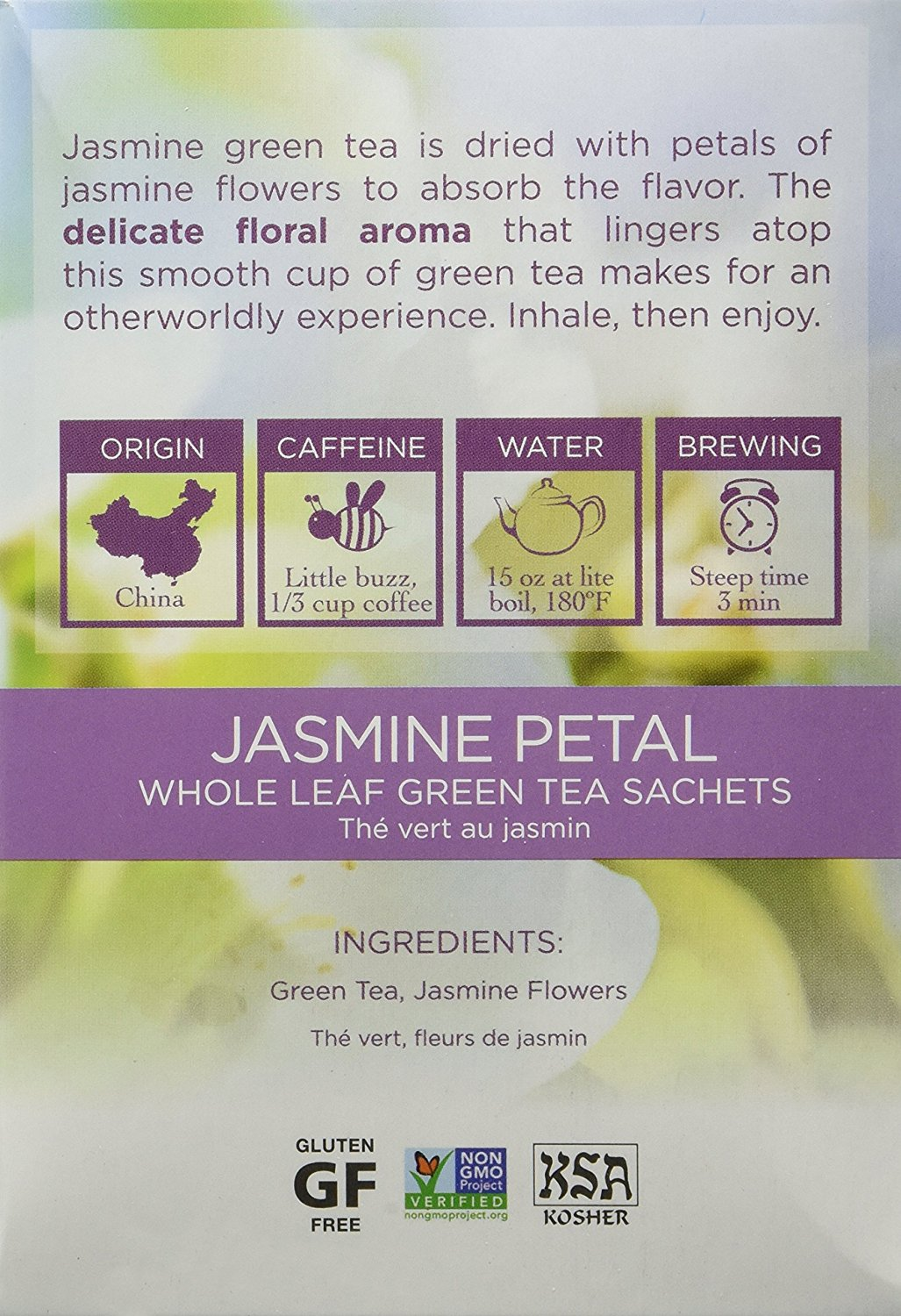 Jasmine Petal is dried with petals of jasmine flowers