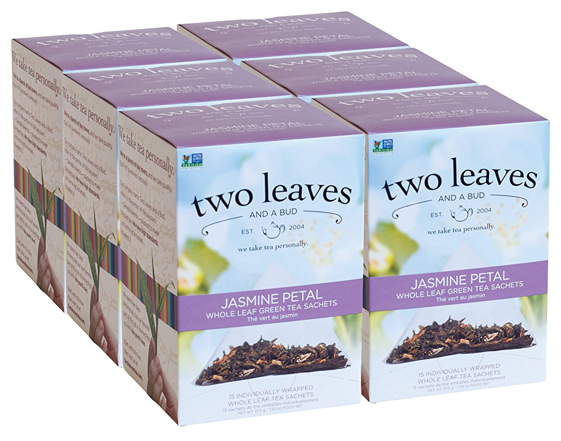 Best Jasmine Tea Brand-Two Leaves and a Bud