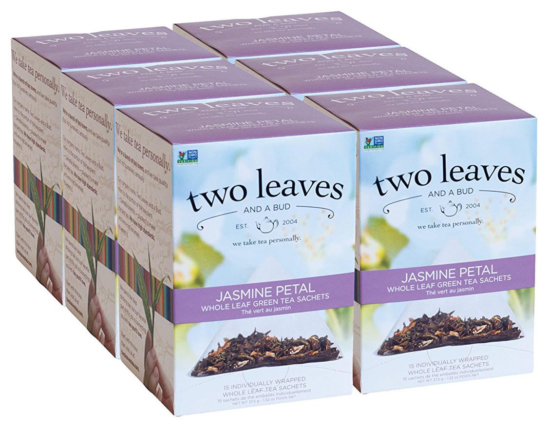Best Jasmine Tea Brand-Two Leaves and a Bud