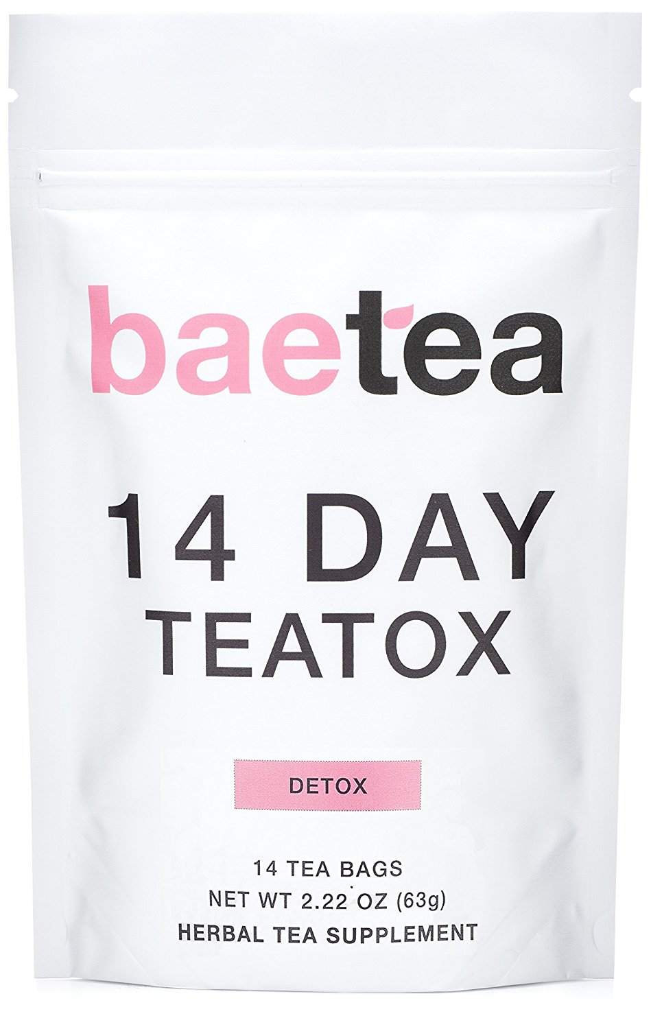 Detox Tea to Lose Weight - Baetea 14 Day Teatox Detox Herbal Tea Supplement